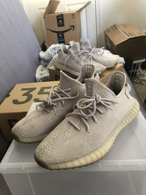 """Yeezy boost 350 V2 """"sesame"""" authentic size 12 for Sale in Gaithersburg, MD"""