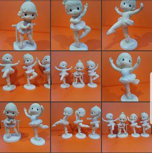 4 Precious moments figurines no boxes for Sale in Pasadena, CA
