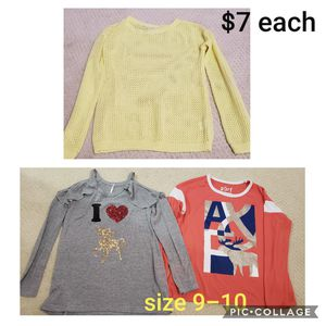 Girls tops clothes size 9-10 Sweater Abercrombie Fitch Kids for Sale in Inman, SC