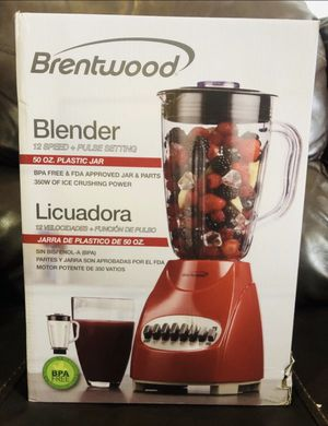 Brentwood licuadora 50 oz new, Blender 12 speeds for Sale in Miami, FL
