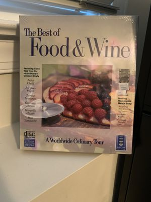 NEW Food and Wine Software CD-ROM for Sale in Redmond, WA