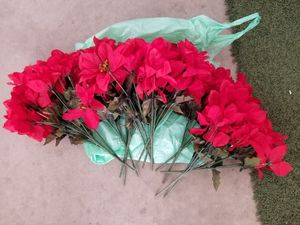 Poinsettia Artificial Flowers for Sale in Reedley, CA