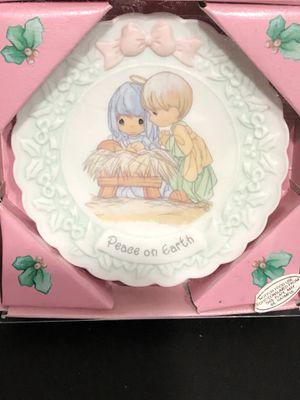 Precious Moments Mini Decorative Plate for Sale in Silver Spring, MD
