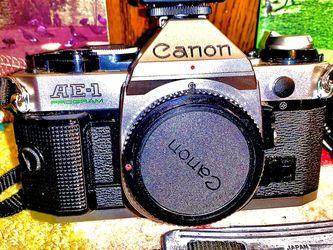Canon AE-1 Program Camera ⭐️Make Offer⭐️ for Sale in Conyers,  GA