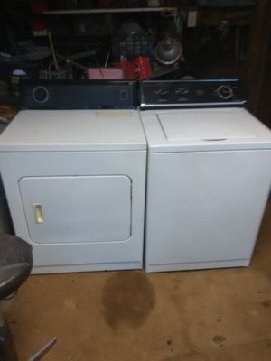 Washer & Dryer Set with 30 day Free Warranty! for Sale in Bethany, OK