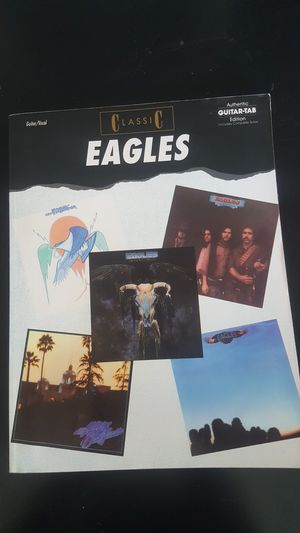 Used, Classic Eagles authentic guitar tablature for Sale for sale  Phoenix, AZ