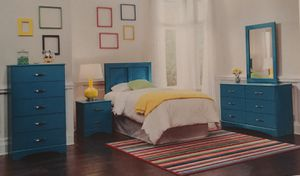 Brand new Twin size bedroom set for Sale in Orlando, FL