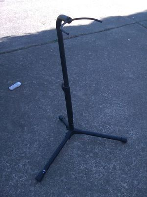 Musical instrument/ guitar/ saxophone/ clarinet stand foldable for Sale in Portland, OR