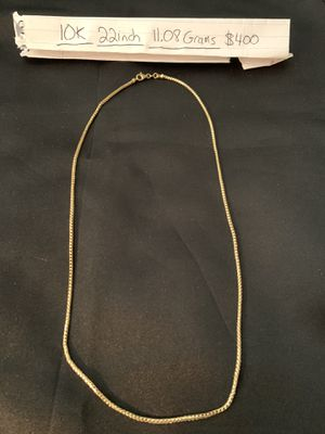 10KT Gold Chain for Sale in Clearwater, FL