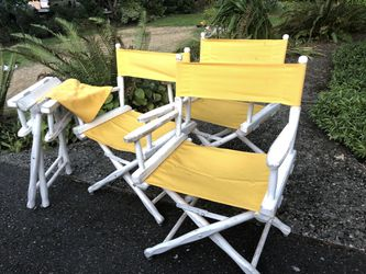 Director chairs. for Sale in Issaquah,  WA