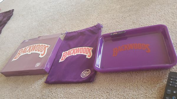 backwood and cookies LED rolling tray never used $50