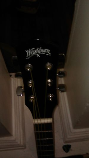 Dreadnaught Washburn acustic electric guitar for Sale in Binghamton, NY