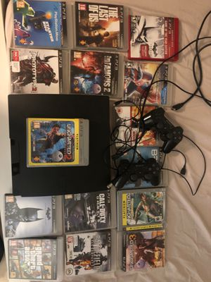PS3 and Games (price negotiable) for Sale in College Park, MD