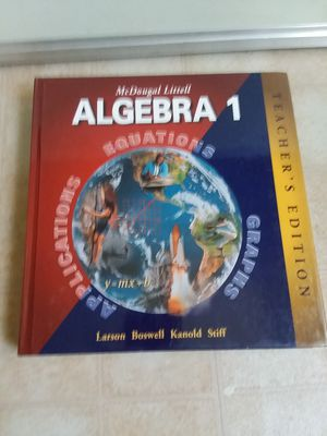 McDougal Littell: Algebra 1 by Laurie Boswell, Timothy D. Kanold. for Sale in Hyattsville, MD