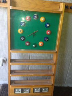Pool Q Holder/Clock for Sale in Sun City,  AZ