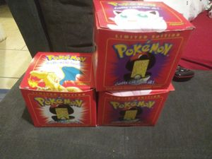 23k Pokemon cards. Charizard and 2 jigglypuffs for Sale in Moorestown, NJ