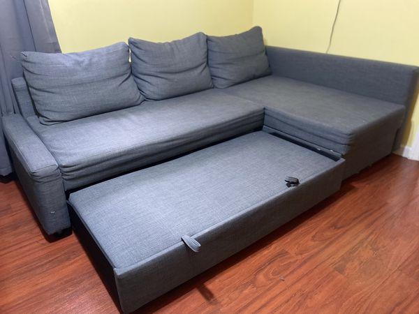 Gray Sofa Bed