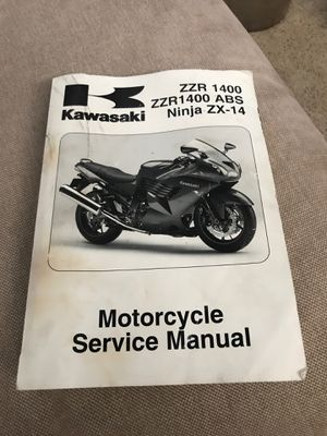 Motorcycle Service Manual - Kawasaki NINJA ZX-14 / 2006-2007 for Sale in West Linn, OR