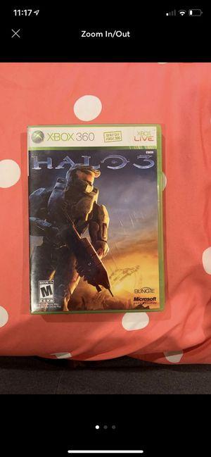 Halo 3 Xbox 360 Game for Sale in Gainesville, VA