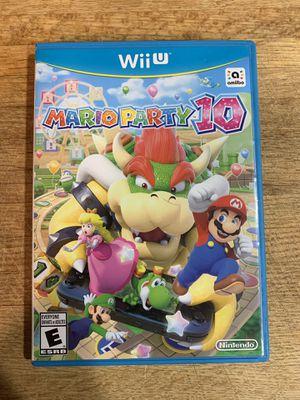 Mario Party 10 - WiiU Game **Like New** for Sale in Tulalip, WA