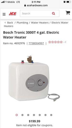 Bosch water heater for Sale in Pasadena, CA