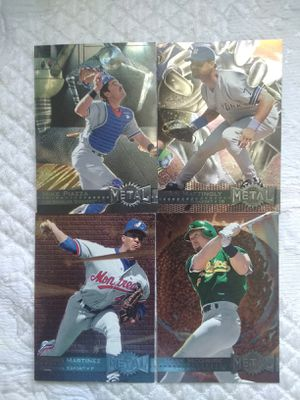 96 fleer..1st metal cards...super stars for Sale in Philadelphia, PA