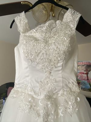 AMGAM Wedding Dress / Vestido de boda for Sale in Mount Rainier, MD