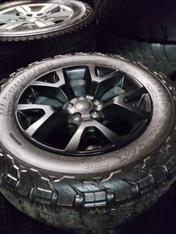 Jeep Grand Cherokee Wheels Liberty rims Compass Renegade Overland Wrangler Rubicon for Sale in West Covina,  CA