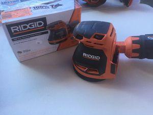 Ridgid 18-Volt Cordless 5 in. Random Orbit Sander (Tool Only) for Sale in Mesa, AZ