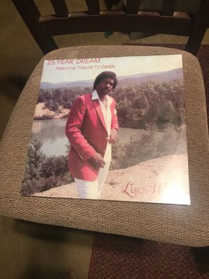 25 YEAR DREAM FEATURING TRIBUTE TO DADDY : by leroy wingo the 2 ( Records) for Sale in Lynchburg, VA