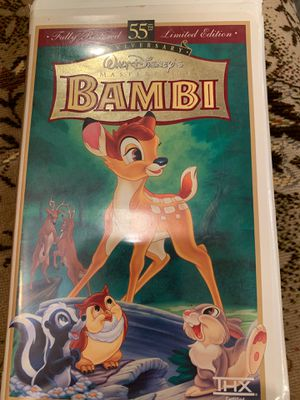 Bambi VHS tape $3 for Sale in New York, NY