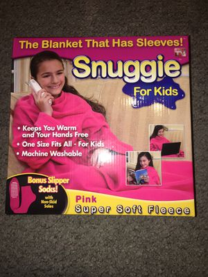 SNUGGIE BLANKET WITH SLEEVES: OFFER UP for Sale in West Covina, CA