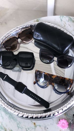 Used, Spring Cleaning Gucci, Chanel, Celine and Valentino Sunglasses With Apple Watch! for Sale for sale  East Orange, NJ