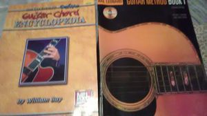 Guitar book method 1 and guitar chord. Encyclopedia for Sale in Hagerstown, MD