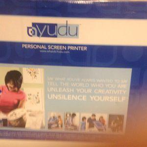 YuDu Screenprinter for Sale in Milford Charter Township, MI