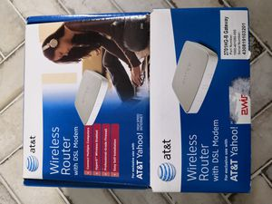 AT&T wireless router with DSL modem for Sale in Houston, TX
