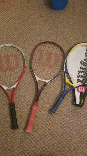 Tennis Rackets - Wilson for Sale in Raleigh, NC