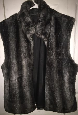 Faux Fur Vest for Sale in Columbus, OH