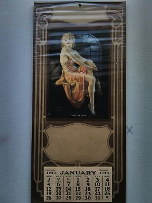 Vintage 1930 Irene Patton pinup for Sale in Winston-Salem, NC