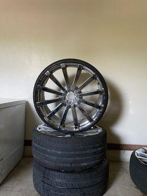 26' rims new tires for Sale in Orlando, FL
