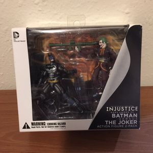 "DC Collectibles Injustice: Batman And The Joker 3.75"" Action Figure (2-Pack) for Sale in Austin, TX"