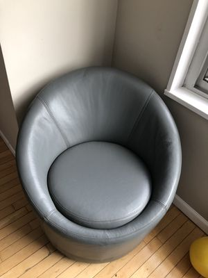 Leather spinning couch for Sale in Boston, MA