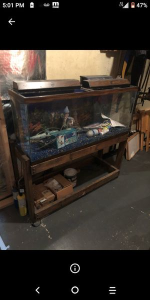 50 gallon with stand for Sale in Rockville, MD