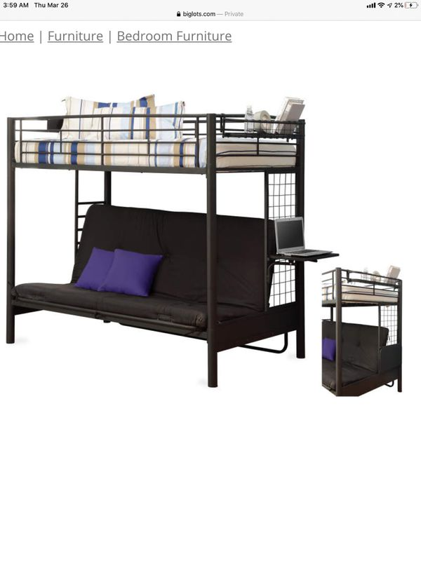 Bunk bed Frame with screws