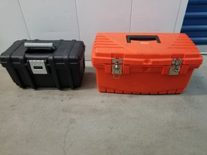 2 tool boxes with some random tools for Sale in Los Angeles, CA