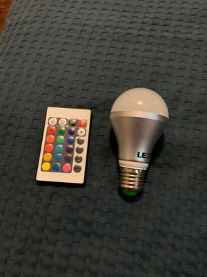 Multicolor light bulb for Sale in Silver Spring, MD