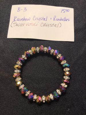 Swavorski Crystal with crystal rondells for Sale in Norman, OK