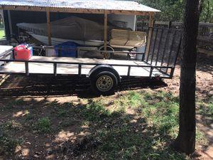 2019 6 1/2x14 utility trailer 3500lb axle for Sale in Hiram, GA