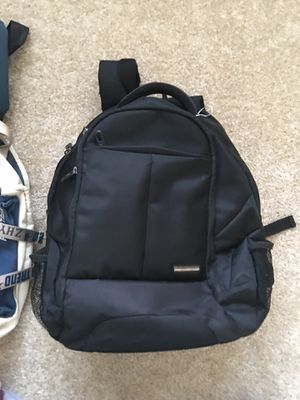 Samsonite black backpack, normal wear for Sale in Irvine, CA