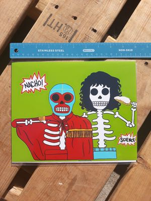 "Nacho Libre Day of the Dead 8""x10"" Print for Sale in Los Angeles, CA"